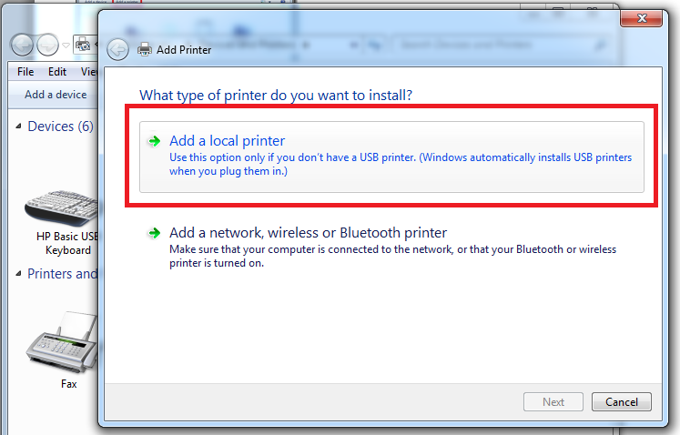 how to create new preset for printer in word