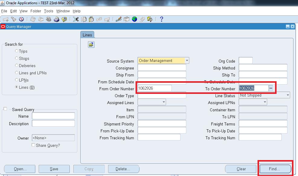 Oracle Applications R12, Creating Sales orders against item