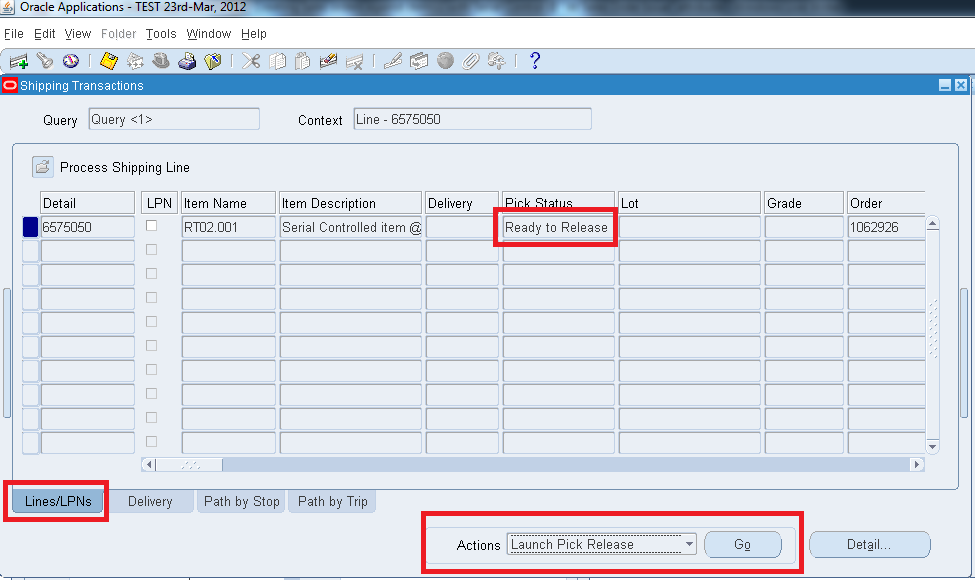 Oracle Applications R12, Creating Sales orders against item(s) with