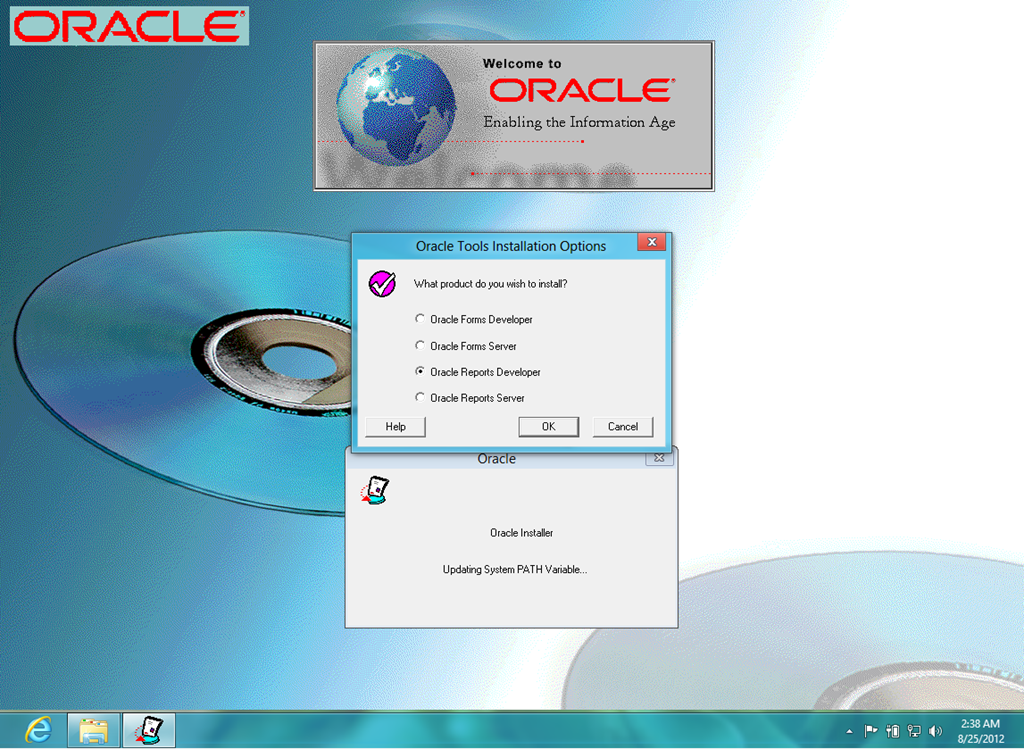 Run Oracle Forms 11g on Windows using OpenJDK 8 and IcedTea