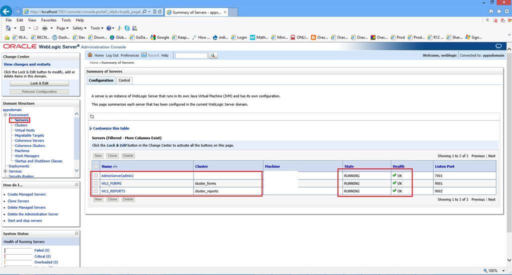install configure oracle weblogic server 10 3 6 forms