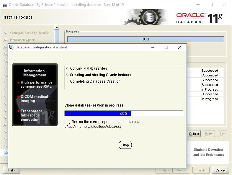 oracle 11g client windows 7 64 bit