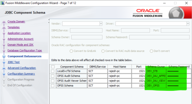 Install Oracle 12c forms & reports, database, weblogic