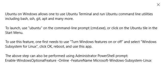 WSL – Duh! Microsoft did it again