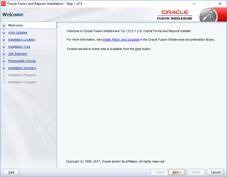 WebLogic 12c 12 2 1 3 Installation & configuring for forms & reports