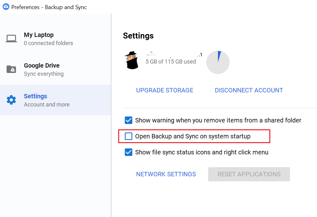 Google Drive (Backup and sync) Service – Duh! Microsoft did it again