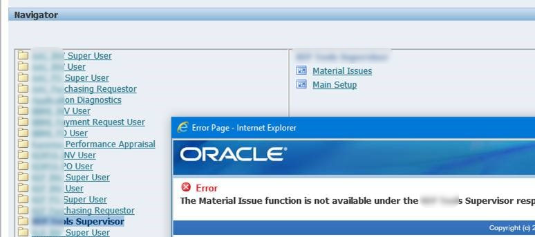 Oracle Applications (R12 0 4) – Duh! Microsoft did it again